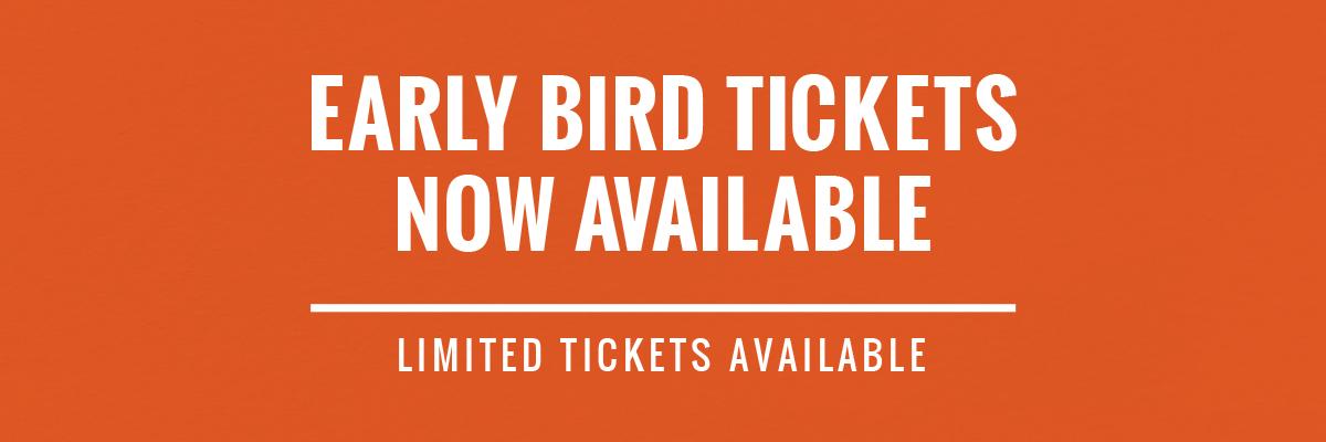 Banner - Early-bird Tickets