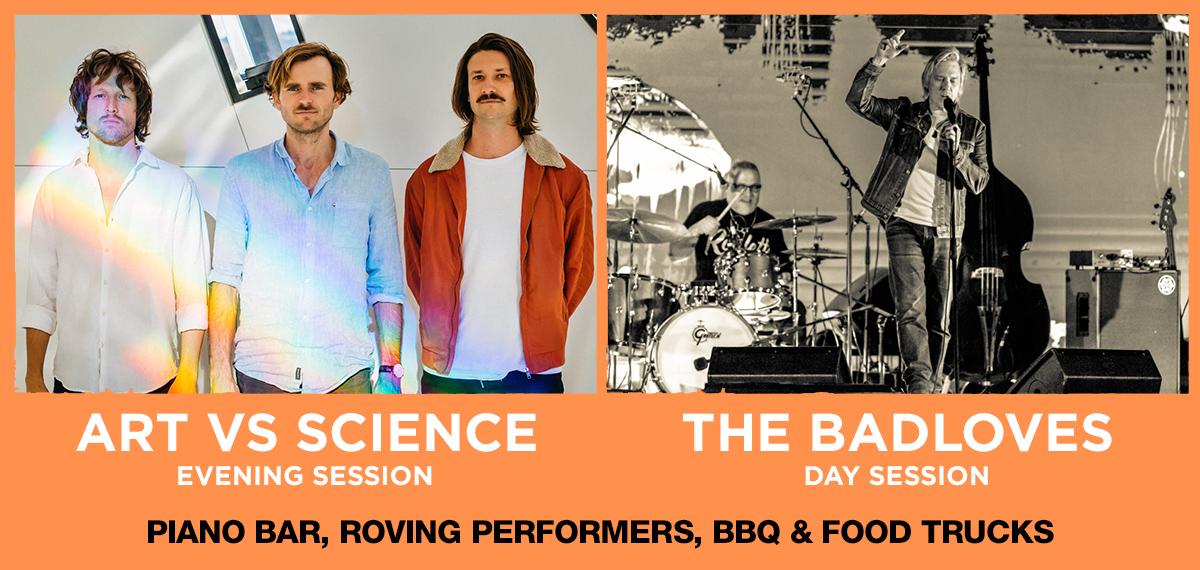 Art vs Science and The Badloves will be performing live at GABF Geelong 2022